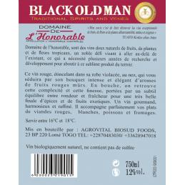 VIN ROUGE DOMAINE DE L'HONORABLE – 75CL