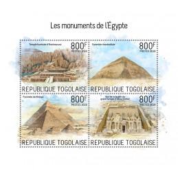 LES MONUMENTS D'EGYPTE