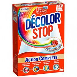 DECOLOR STOP Lingettes anti-décoloration action complète 25 lingettes