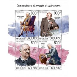 COMPOSITEURS ALLEMANDS ET...