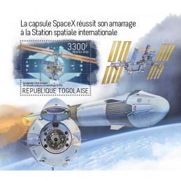 LA CAPSULE SPACEX REUSSIT...
