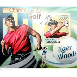 CHAMPIONS DE GOLF TIGER WOODS