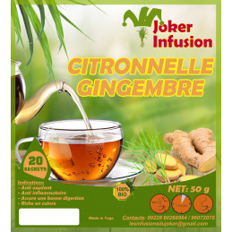 Infusion Citronnelle gingembre