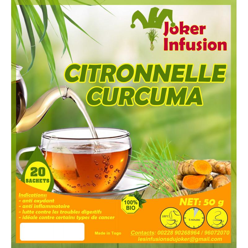 Infusion Citronnelle curcuma